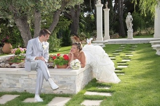 Your ceremonies have their dedicated space at the Villa Quélude